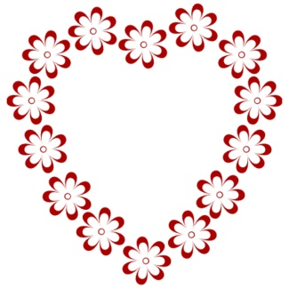 Free Hearts And Flowers Border, Download Free Clip Art, Free.