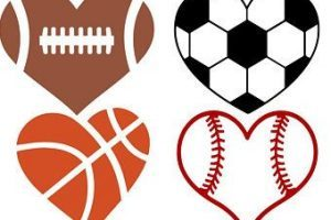 Heart shaped football clipart 3 » Clipart Portal.