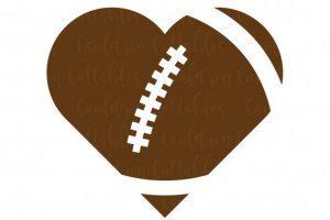 Heart shaped football clipart 7 » Clipart Portal.