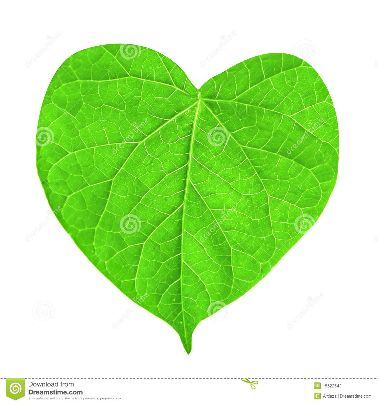 Leaf Heart Clipart.