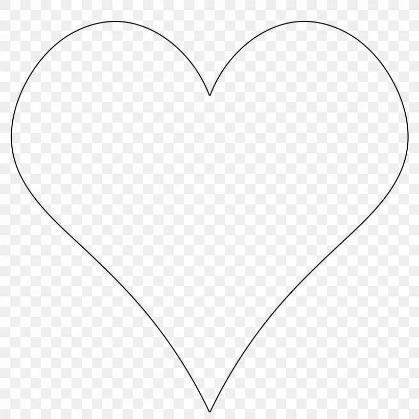 Heart Drawing Symbol Shape Clip Art, PNG, 2400x2400px.