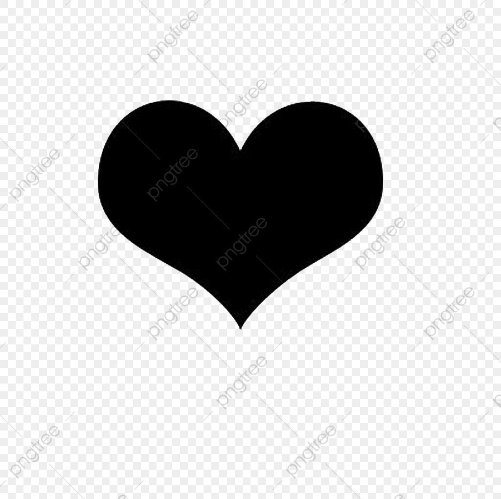 Heart Shaped, Heart Outline, Black Heart, Love Shape PNG Transparent.