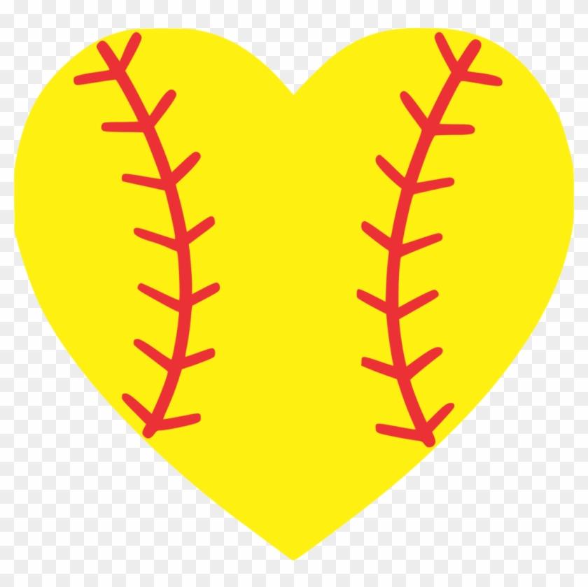 Softball Heart.