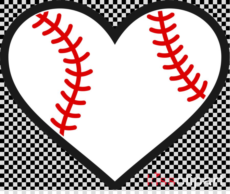 Baseball Heart Png Clipart Softball Baseball Heart.
