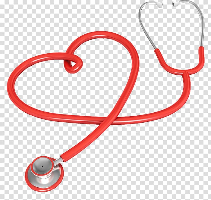 Stethoscope Medicine Heart , heart transparent background.