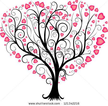 Heart Tree Clipart.