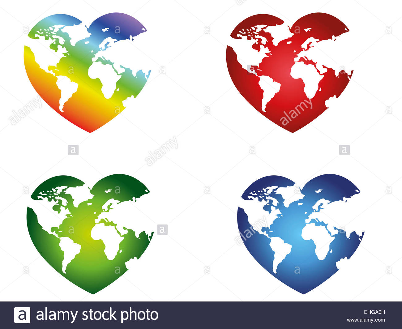 Heart Shaped World Map Stock Photos & Heart Shaped World Map Stock.