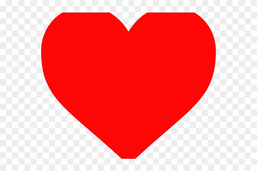 Heart Shaped Clipart Colored Shape.