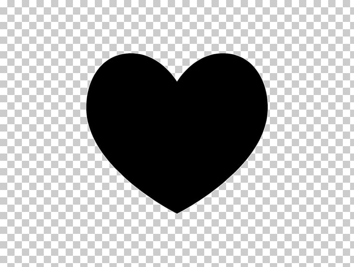 Heart Silhouette , heart PNG clipart.