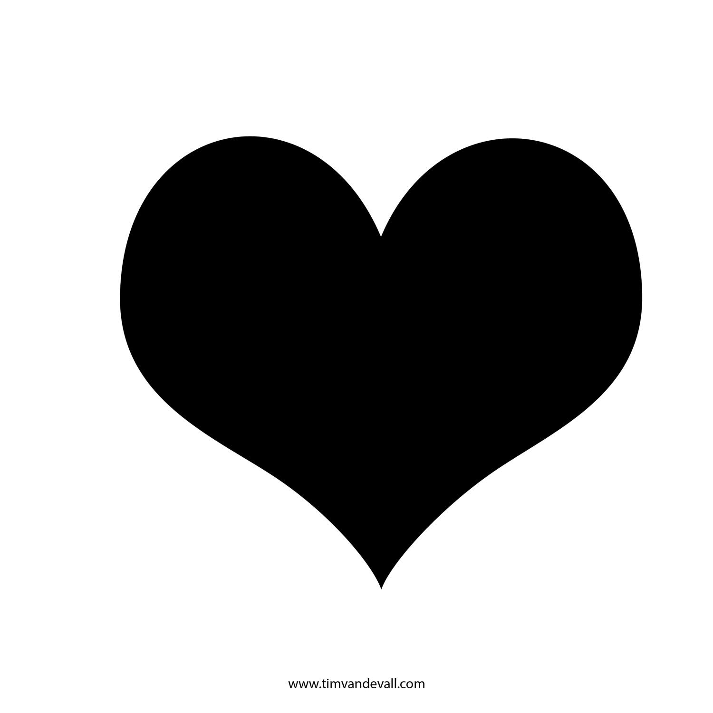 Free Heart Silhouette Clip Art, Download Free Clip Art, Free.