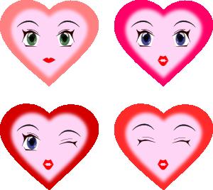 Heart Faces Clip Art at Clker.com.