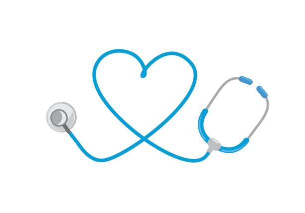 Best Heart Stethoscope Illustrations, Royalty.