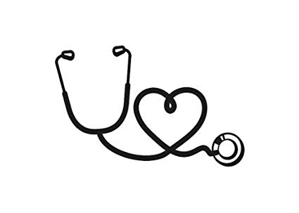 146 Stethoscope Heart free clipart.