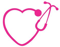 Heart Stethoscope Clipart Black And White.