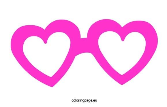Heart sunglasses clipart 1 » Clipart Portal.