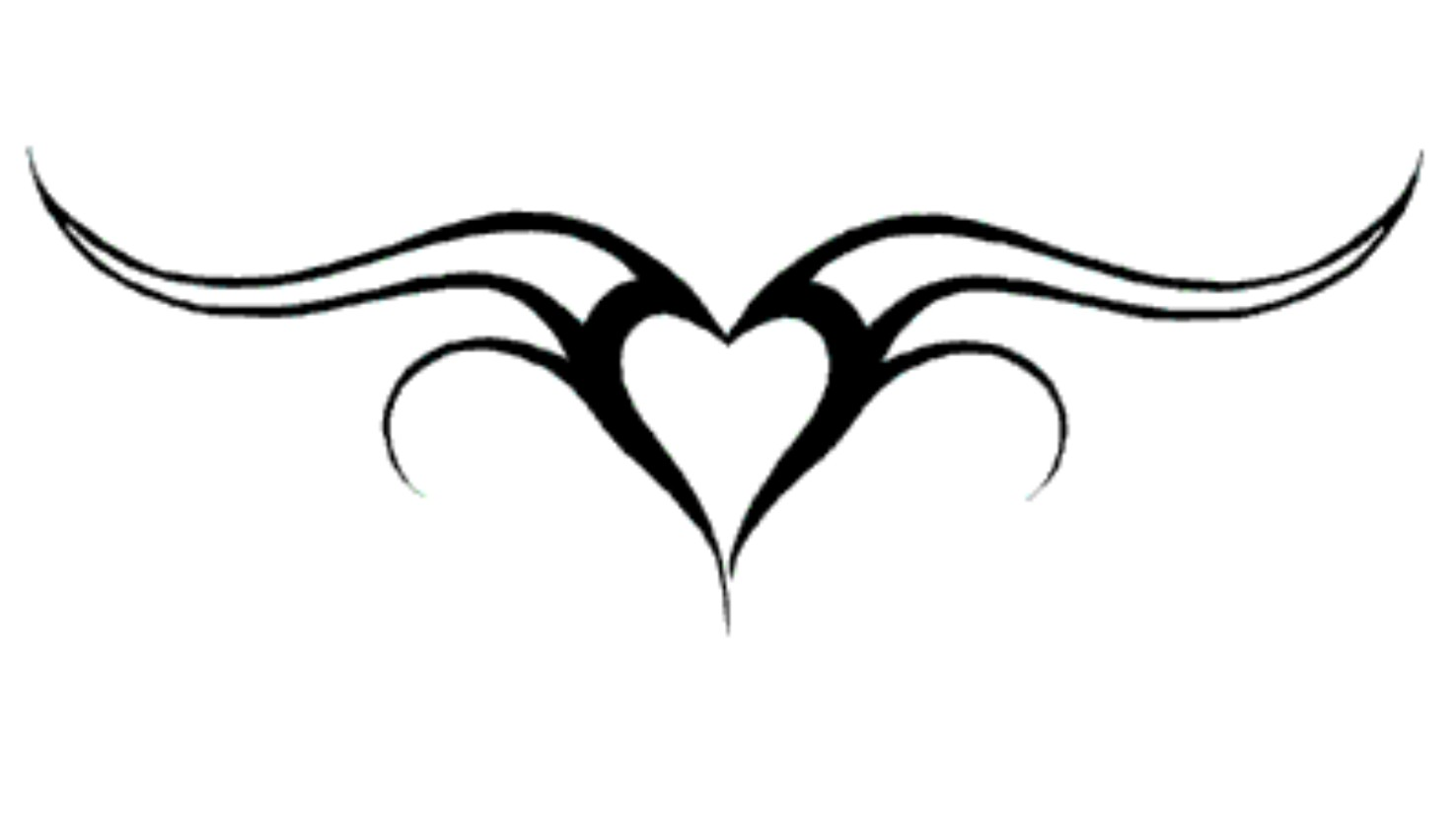 Heart Tattoo Png (+).