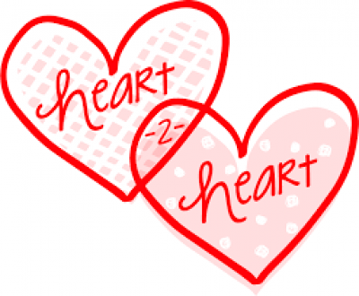 Heart To Heart Clipart.