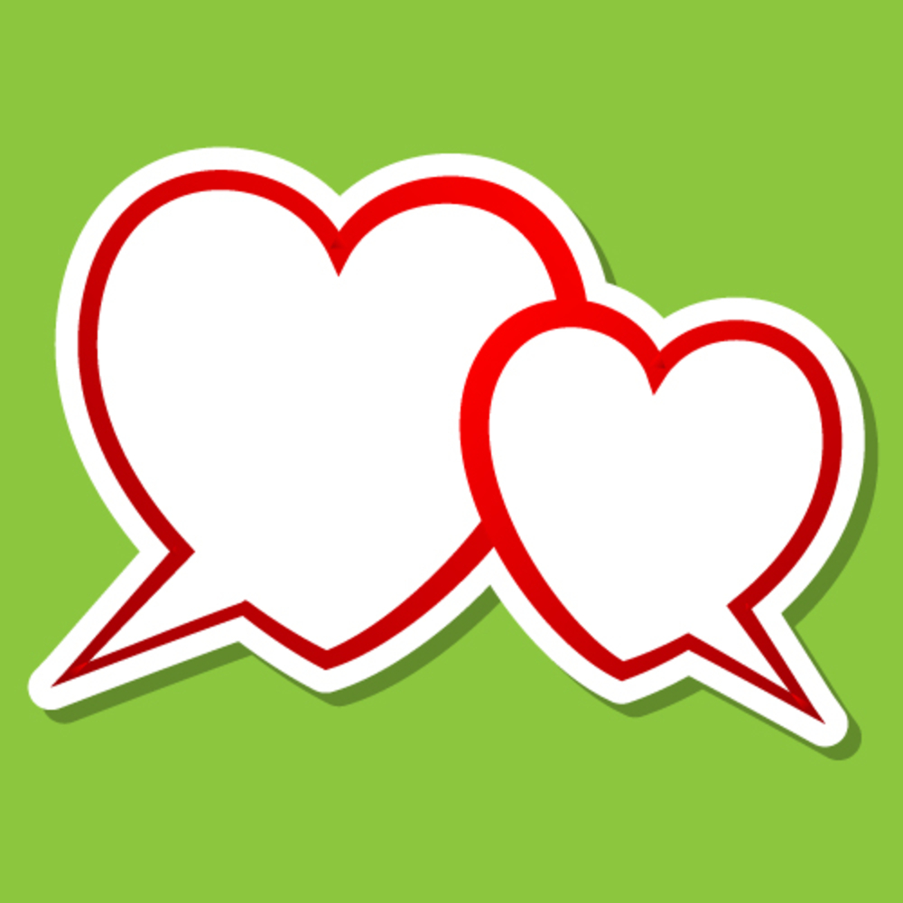 Heart to heart clipart 3 » Clipart Station.