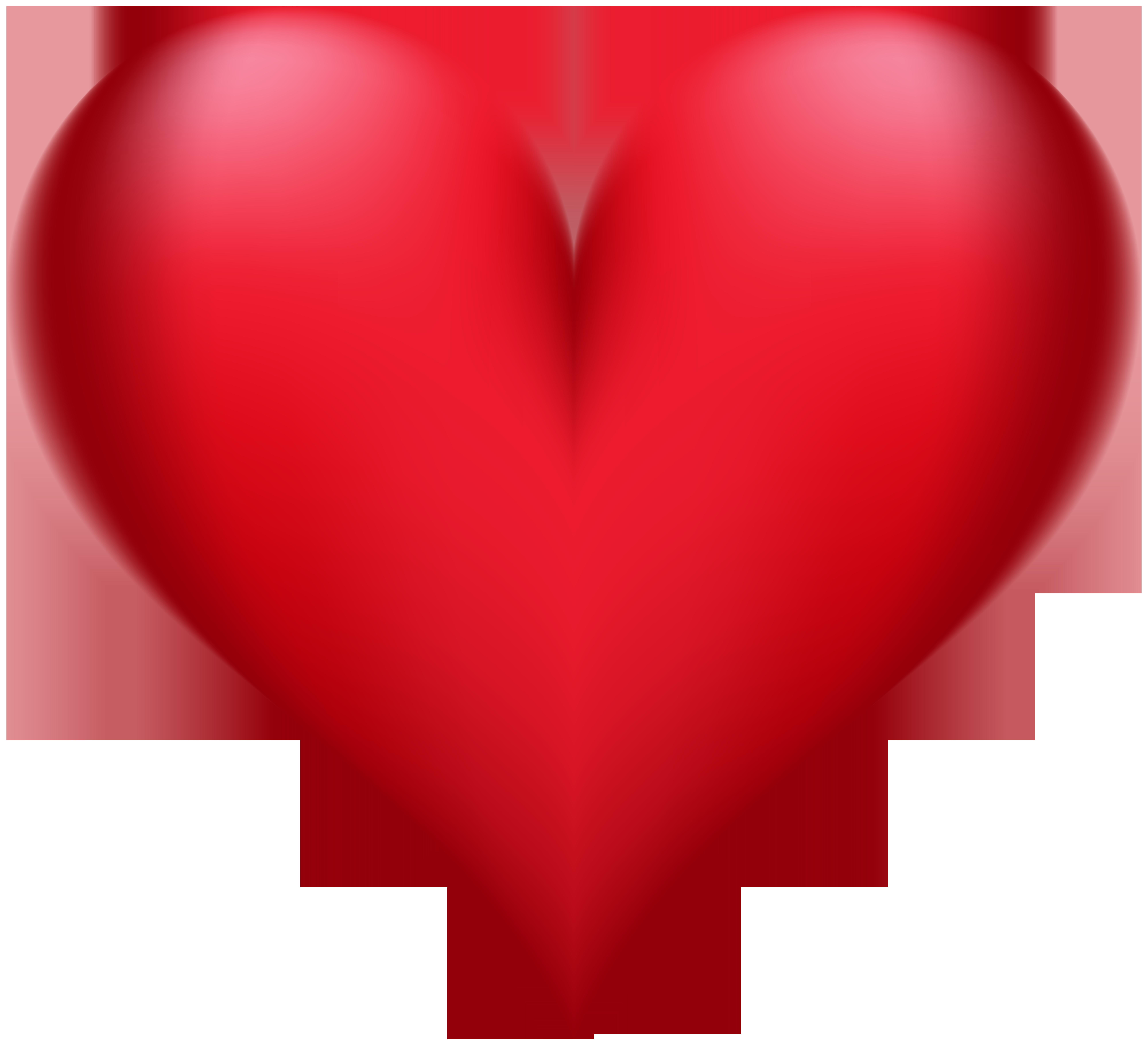 Heart Transparent Clip Art PNG Image.