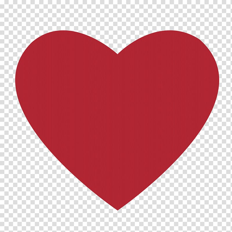 Love Heart , Red Heart transparent background PNG clipart.
