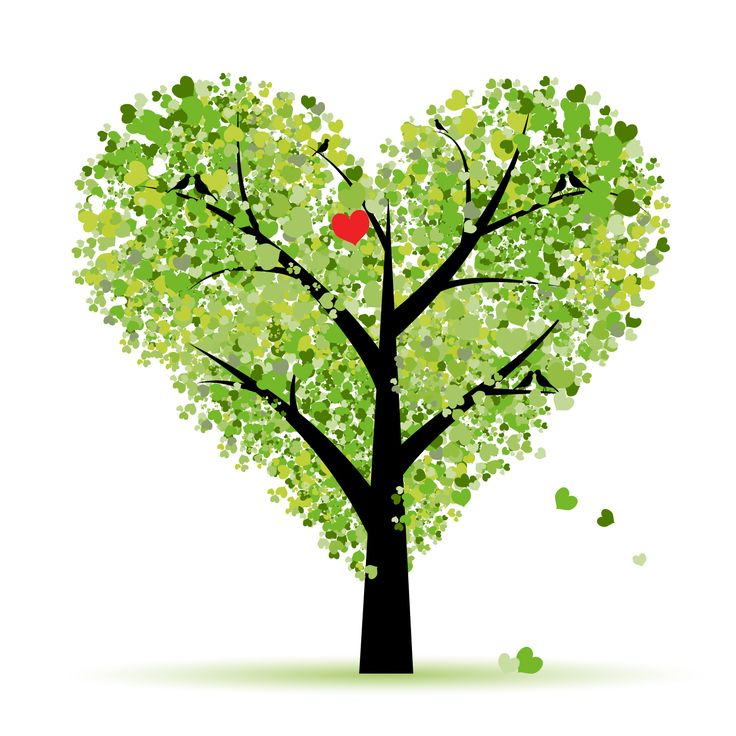 17 Best images about Heart trees on Pinterest.