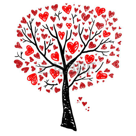 20,243 Heart Tree Stock Illustrations, Cliparts And Royalty Free.