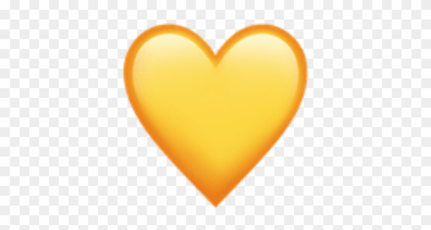 Yellow Aesthetic Tumblr Cute Sun Heart Hearts Emoji.