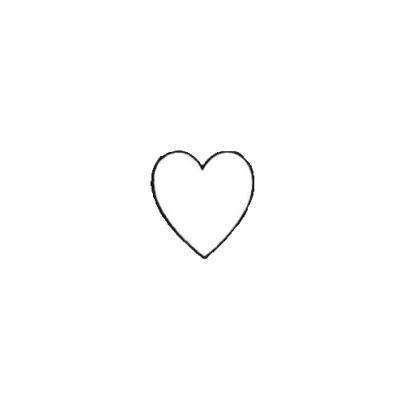 transparent heart.