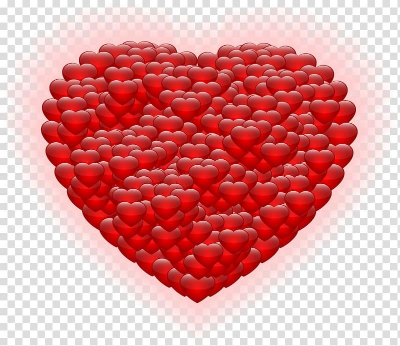 Hearts illustration, Heart Valentine\\\'s Day , Shining Heart.