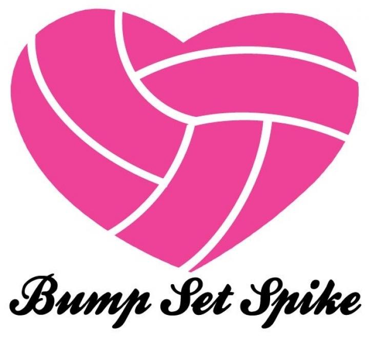 Volleyball Heart Clipart.