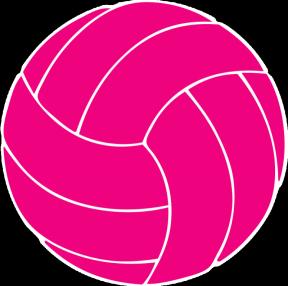Girls Volleyball Clip Art.