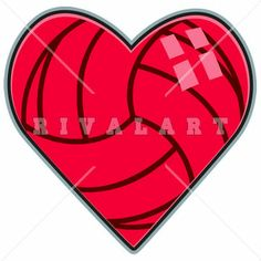Sports Clipart Image of Volleyball Skull Graphic http://www.