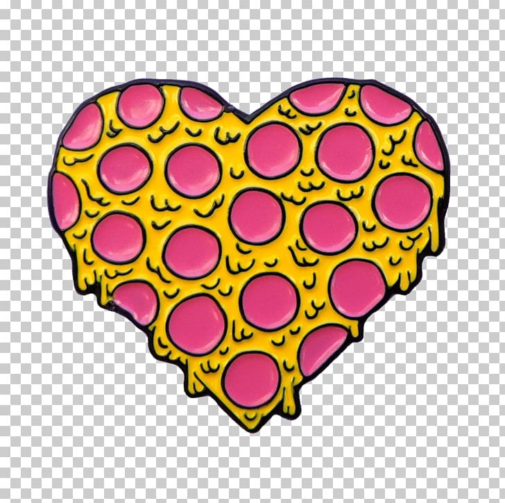 Pizza My Heart Pepperoni 2018 Crown Point High School Heart.