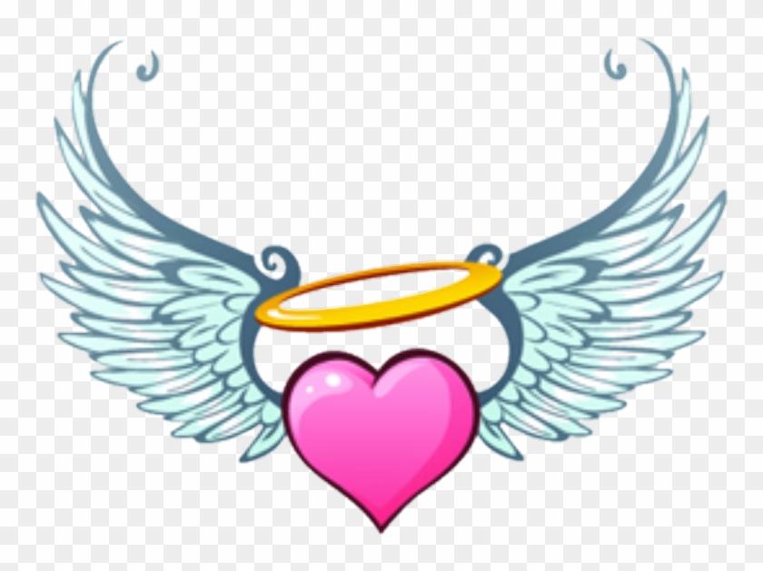 angel #hearts #wings #heart.