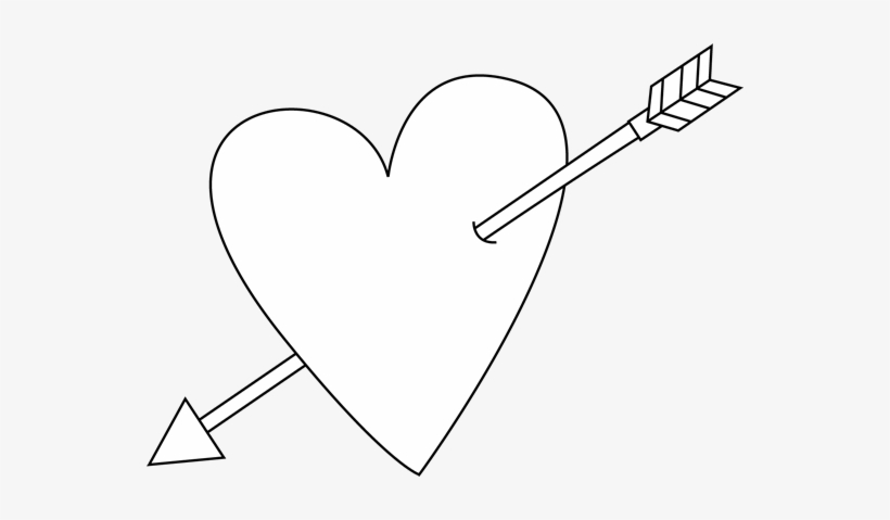 Heart Clipart Black And White.