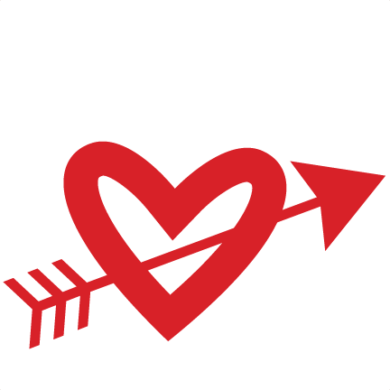 Heart With Arrow Clipart at GetDrawings.com.