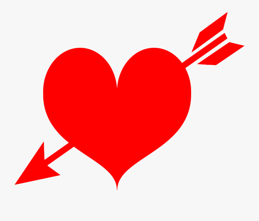 Arrow Through Heart Png.