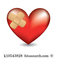 Bandage heart Clip Art Royalty Free. 1,174 bandage heart clipart.