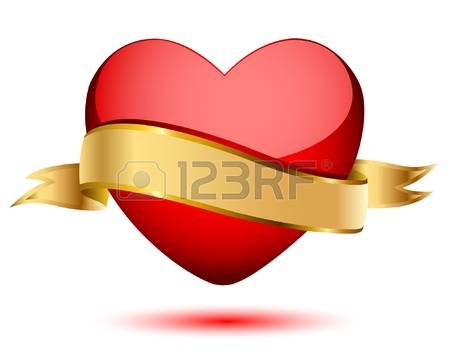 113,232 Heart Banner Stock Vector Illustration And Royalty Free.