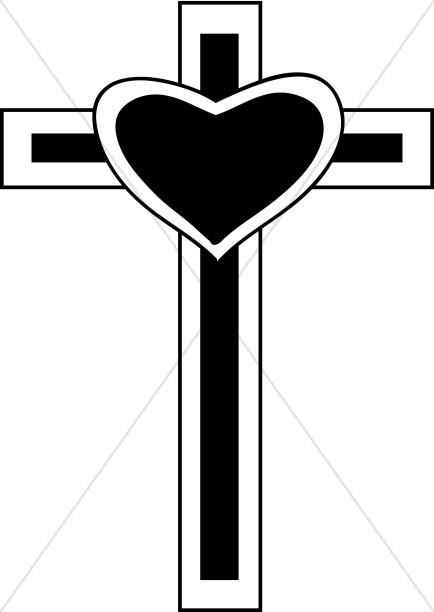 Heart on Cross.