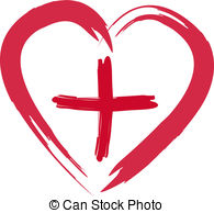 Heart and cross clipart » Clipart Station.