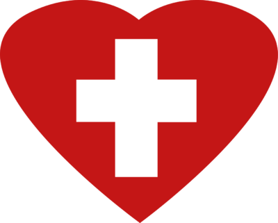 Heart And Cross Clipart.