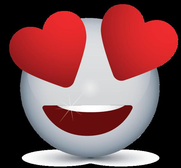 Create Free Heart Eyes Emoji Logo ? Online Logos Maker.