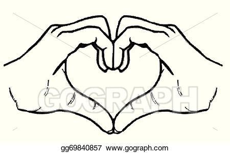 Heart with hands clipart 4 » Clipart Portal.