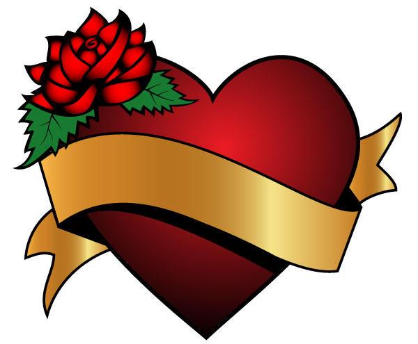Free Heart Ribbon Cliparts, Download Free Clip Art, Free.