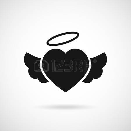 15,996 Heart And Wings Stock Vector Illustration And Royalty Free.