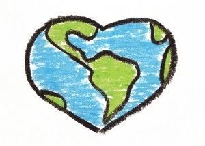 Heart Shaped Earth.