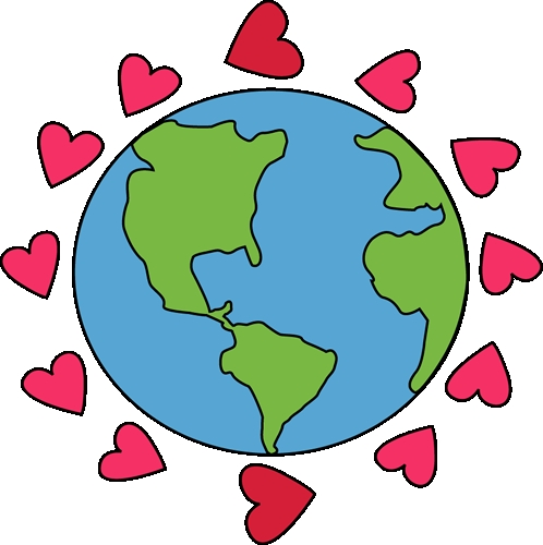 heart earth clipart Archives.