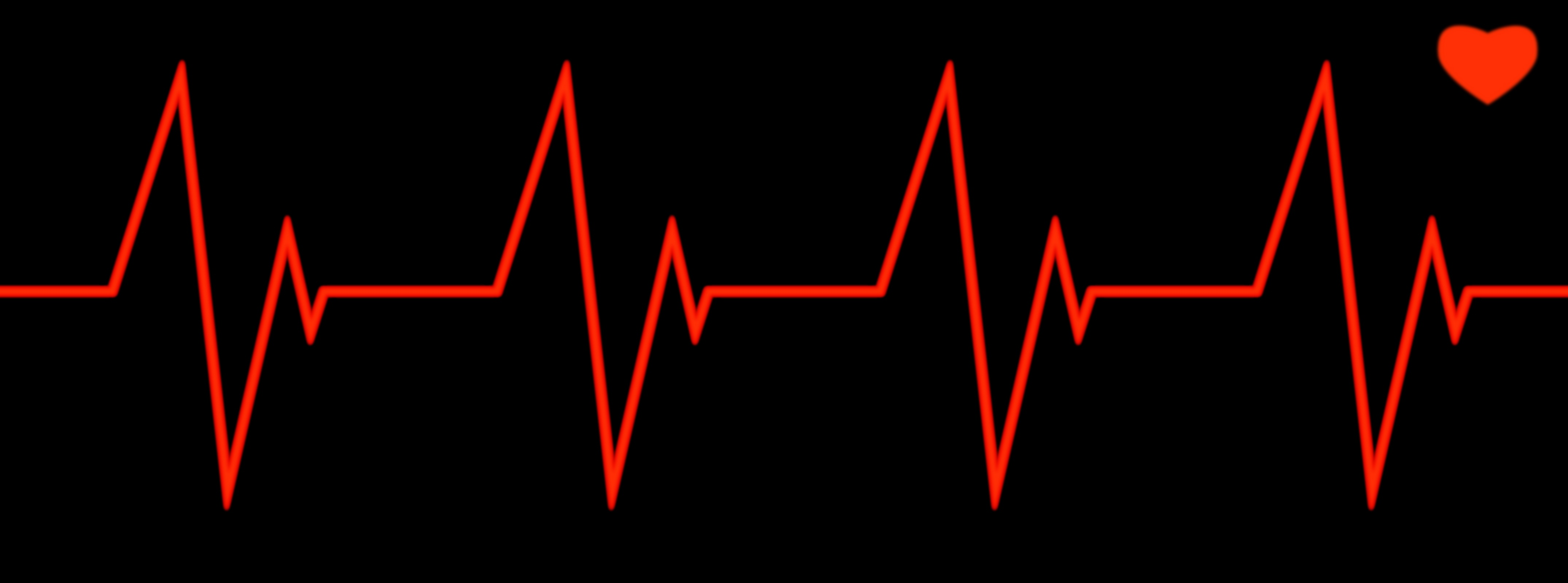 Heartbeat Line Clipart Black And White Heartbeat icons@Share on.