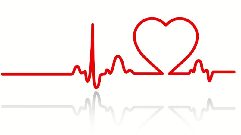 heartbeat line clipart black and white png #11